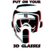 Put on your 3D Scout Glasses Photographic Print