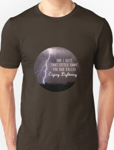 crying lightning Unisex T-Shirt