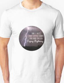 crying lightning Unisex T-Shirt