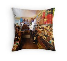 Freeburg Store Throw Pillow