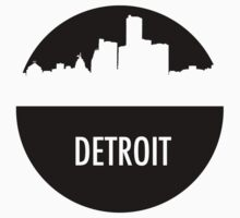 Detroit Skyline Shadow T-Shirt