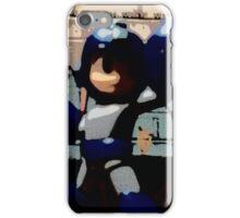 Mega man in the streets iPhone Case/Skin