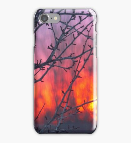 Sunset Abstract iPhone Case/Skin