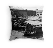 Old Traveller Throw Pillow
