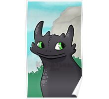 Sweet Toothless Poster