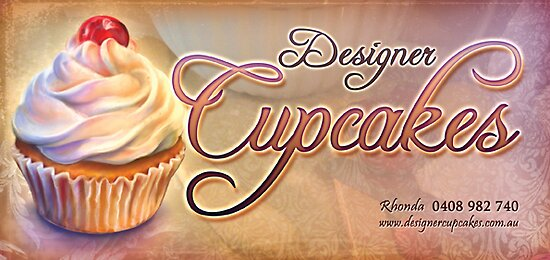 Designer Cupcakes by RedSparrow