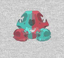 Cat Skull X3 Unisex T-Shirt