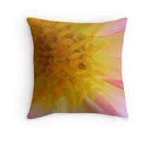 Collecting Pollen Throw Pillow