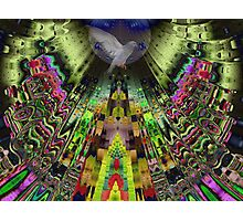 The Aztek temple Photographic Print