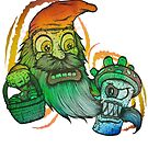 Gnome tripping on mushrooms! by JoeyKnuckles