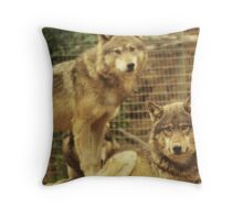 Big Bad Wolves Throw Pillow