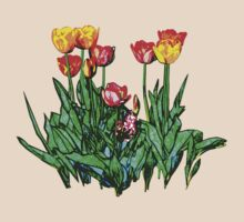 Tulips and a Hyacinth by Susan Savad