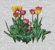 Tulips and a Hyacinth Kids Clothes