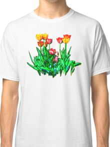 Tulips and a Hyacinth Classic T-Shirt