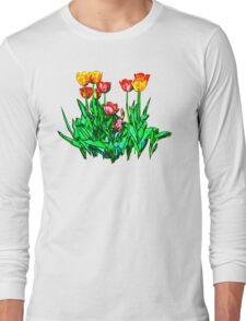 Tulips and a Hyacinth Long Sleeve T-Shirt
