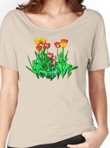 Tulips and a Hyacinth Women's Relaxed Fit T-Shirt