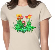 Tulips and a Hyacinth Womens Fitted T-Shirt