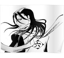 Byakuya Kuchiki Bleach Anime Poster