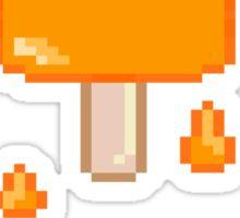 Orange Lolly Sticker