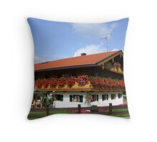 Country home in Upper Bavaria Throw Pillow