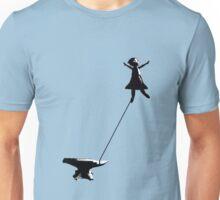 flying girl Unisex T-Shirt