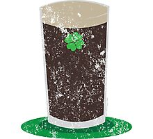 VINTAGE Pint of Guiness Photographic Print