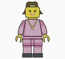 Lego Chav Girl by miners