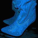 Don't Step on my Blue Suedes... by Dmarie Becker