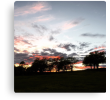 Chico, California: End of the Day Canvas Print