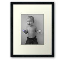 kissable jolly  Framed Print