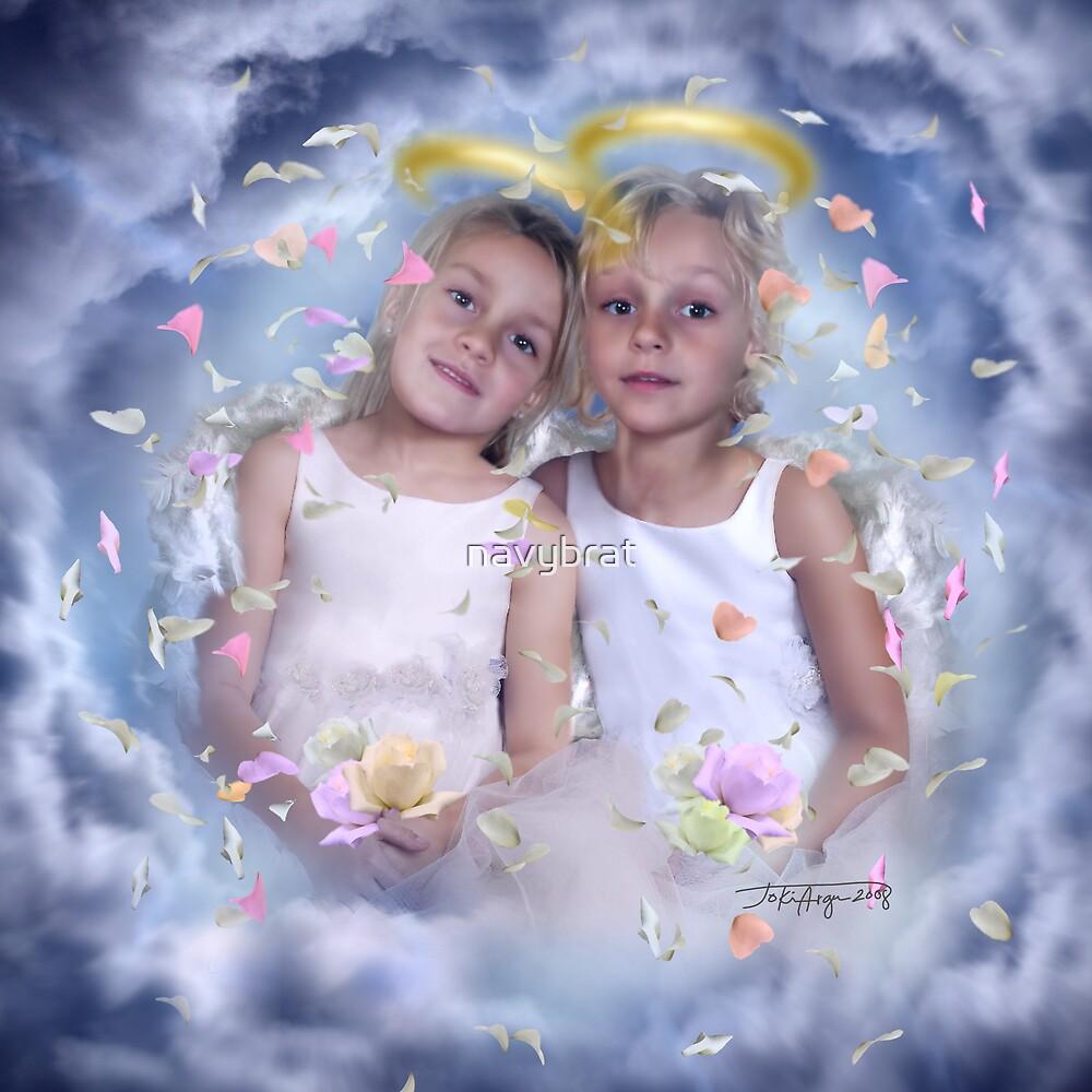 flower angels by navybrat