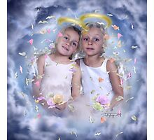 flower angels Photographic Print