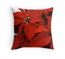 Holiday Foliage Throw Pillow