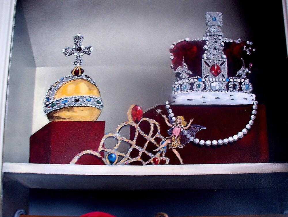 MURAL Princess Door - close-up by mmdstudios