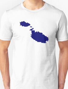 Malta map  T-Shirt