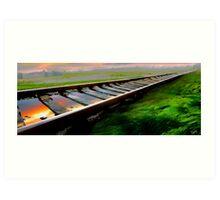 Railway Art Print