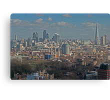 City of London from Milbank Canvas Print