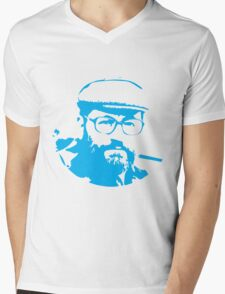 Umberto Eco is watching you Mens V-Neck T-Shirt