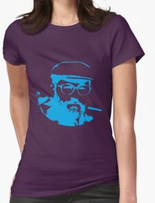 Umberto Eco is watching you Womens Fitted T-Shirt