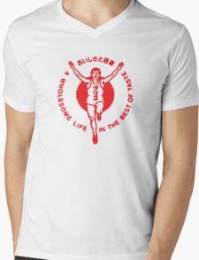 Glico Man Circle Painting T-Shirt