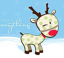 sweet little reindeer 2 by Kat Massard