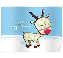 sweet little reindeer 2 Poster