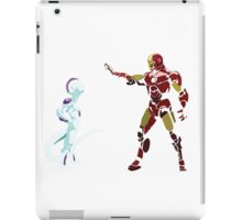 frieza vs ironman iPad Case/Skin