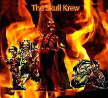 ThE SKULL KREW by Fabian diaz
