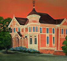 Victorian Sunset by patti haskins