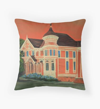 Victorian Sunset Throw Pillow