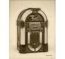 Jukebox Photographic Print