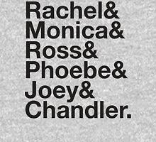 FRIENDS Rachel Green Monica Geller Ross Geller Chandler Bing Phoebe Buffay Joey Tribbiani Womens Fitted T-Shirt
