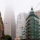 Downtown San Francisco by Radek Hofman