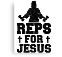 REPS FOR JESUS Canvas Print